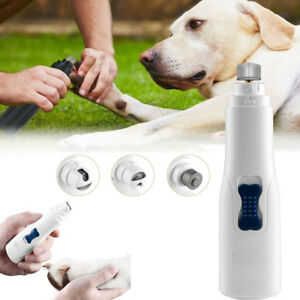 Professional-Pet-Dog-Cat-Nail-Trimmer-Grooming-Tool-Grinder-Electric-Clipper-Kit