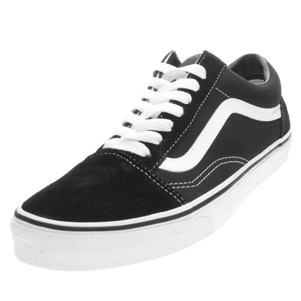 Zapatos promocionales para hombres y mujeres Scarpe Vans Old Skool Taglia 38 VD3HY28 Nero