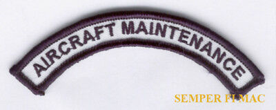 AIRCRAFT MAINTENANCE TAB PATCH MAINT AIRPLANE REPAIR INSPECTION FAA TC PILOT WOW