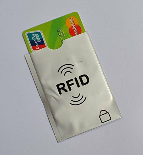5x RFID Anti Theft Theft Theft Secure Sleeve Credit Card Holder Protector Case Blocking Safe c8ccd3