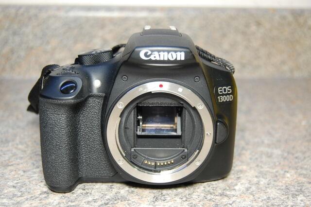 Canon EOS 1300D DSLR Camera & 18-55mm Lens - Free Shipping