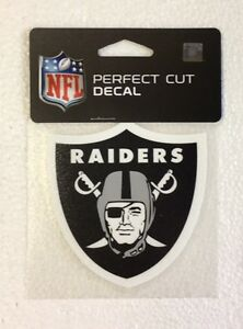 Oakland Raiders 4 X 4 Team Logo Truck Car Auto Window Die Cut Decal Color New Ebay