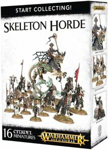 4388b4deac7 Start Collecting Skeleton Horde Warhammer Age of Sigmar AOS for sale online