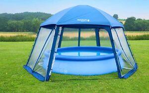 Pool Mit Dach pooldach 600 x 520 x 280 cm für aufstellpools poolüberdachung pool
