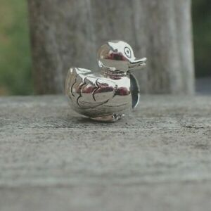 Authentic-Pandora-Ducky-Charm-790955-Retired-Duck