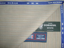 "DORMEUIL 95%WOOL,5%MOHAIR ""MYSTIC MOHAIR"" SUITING FABRIC–MADE IN ENGLAND- 3.43 m"