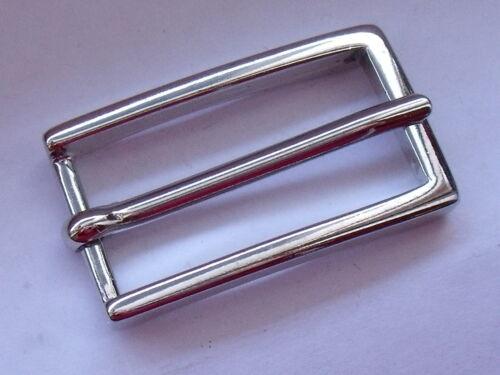 Gürtelschnalle Schließe Schnalle Verschluss 2 cm silber  NEUWARE  rostfrei #208#