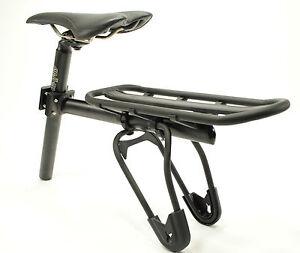 Mountain-Bike-Full-Suspension-Tige-de-selle-monte-rack-arriere