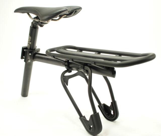 Mountain Bike Full Suspension Seatpost Mounted Rear Rack
