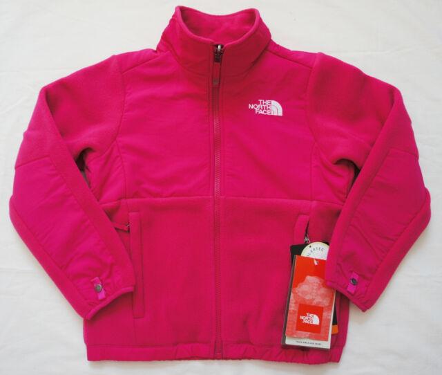 d6c921cc47d3 Girls North Face Denali Fleece Jacket Youth XL 18 Passion Pink