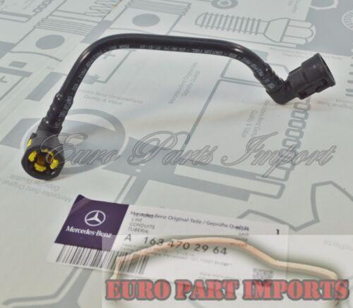 Mercedes-Benz W163 Fuel Hose Return Line Germany Genuine Original OE 1634702964
