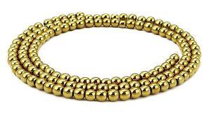 Hematite-Or-Boules-in-2-3-mm-perles-corde-GRAINE-perles-or-Beads