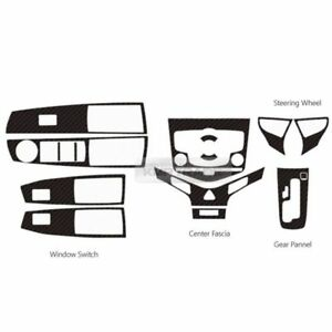 Carbon Gear Center Fascia Switch Wheel Decal  for 2008-2012 Chevrolet Cruze