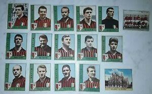 FIGURINA-CALCIATORI-PANINI-1962-63-MILAN-MENU-A-TENDINA-8P5B