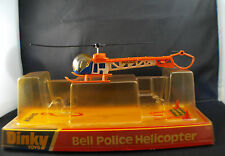 Dinky Toys GB n° 732 Bell Police Helicopter hélicoptère neuf boite mint