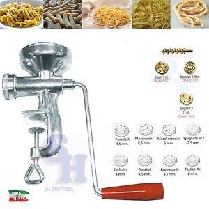 Macchina torchietto manuale pasta fresca spaghetti bucatini tagliatelle altro ebay - Macchina per cucinare ...