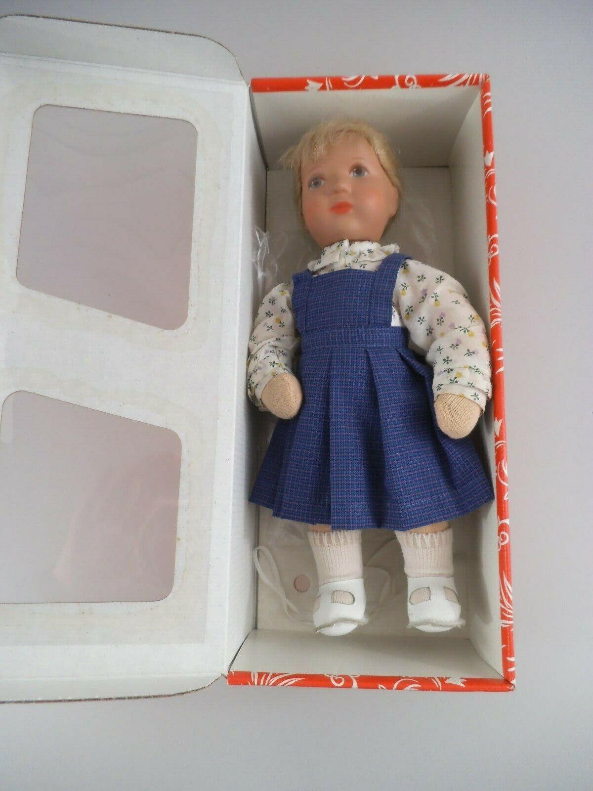 Käthe Kruse Doll Melanie 25H in OVP (2717)