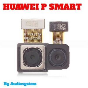 DUAL-FOTOCAMERA-POSTERIORE-ORIGINALE-HUAWEI-P-SMART-FIG-LX1-L31-FLAT-FLEX-CAMERA