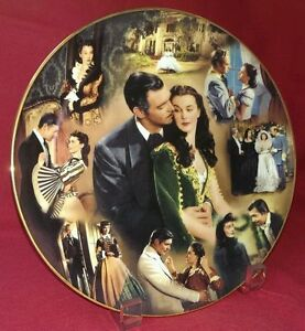 Gone with the Wind ultra rare montage plate 12034 Story of Romance mint - Coventry, United Kingdom - Gone with the Wind ultra rare montage plate 12034 Story of Romance mint - Coventry, United Kingdom