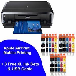 Canon-PIXMA-iP7250-Inkjet-Colour-Photo-Printer-USB-Wi-Fi-plus-3-sets-of-XL-Inks