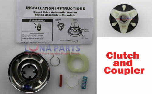 285785 AND 285753 WASHER CLUTCH AND COUPLER KIT NEW FOR ALL BRANDS