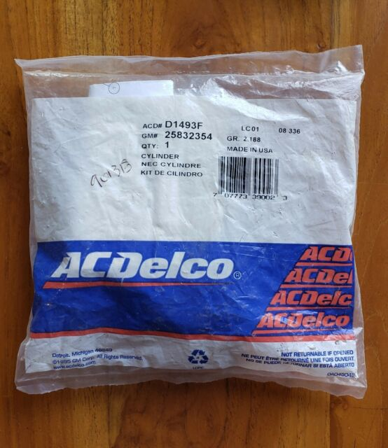 ACDelco D1493F GM Original Equipment Ignition Lock Cylinder
