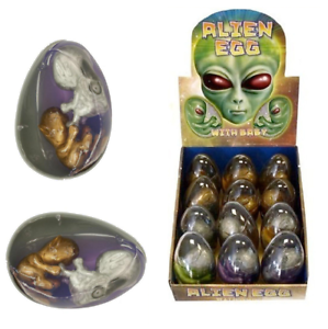 Two 2 x Twin Baby Alien Egg & Slime Earthpods Party Favour Bag Filler N14 154