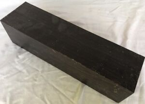 Gaboon Ebony Lumber 1.5x1.5x18 Woodworking Pool Cues Tool Handles Magic Wands