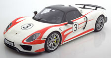GT Spirit 2012 Porsche 918 Spyder Weissach Package LE 500 1/12 Scale In Stock!