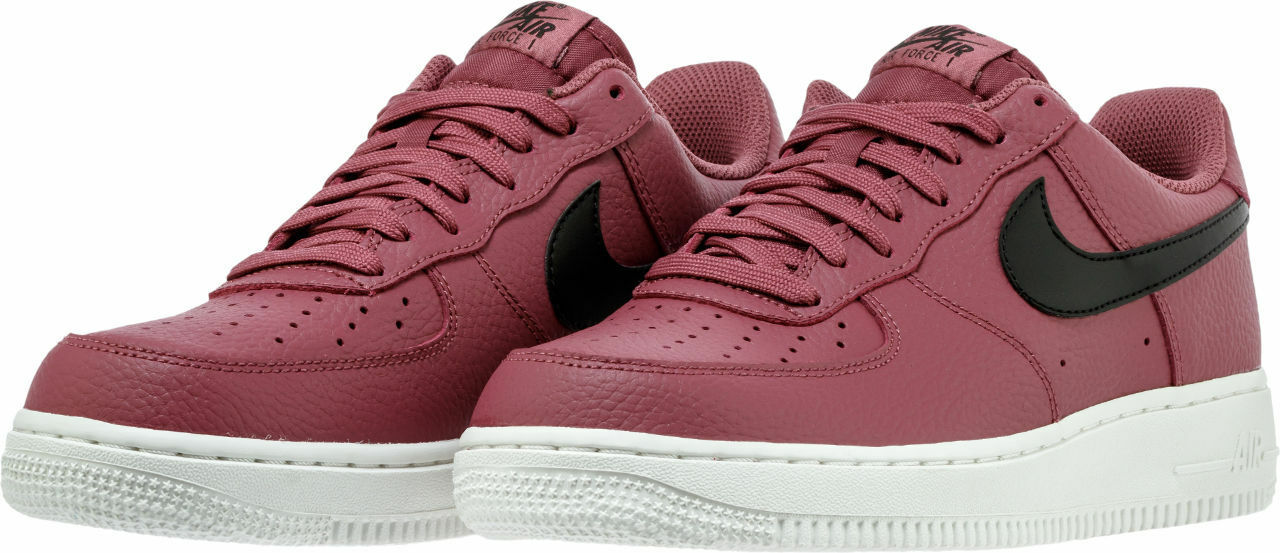 AA4083-601 Men's Nike Air Force 1 '07 Burgandy Black White Sizes 8-12 New in Box