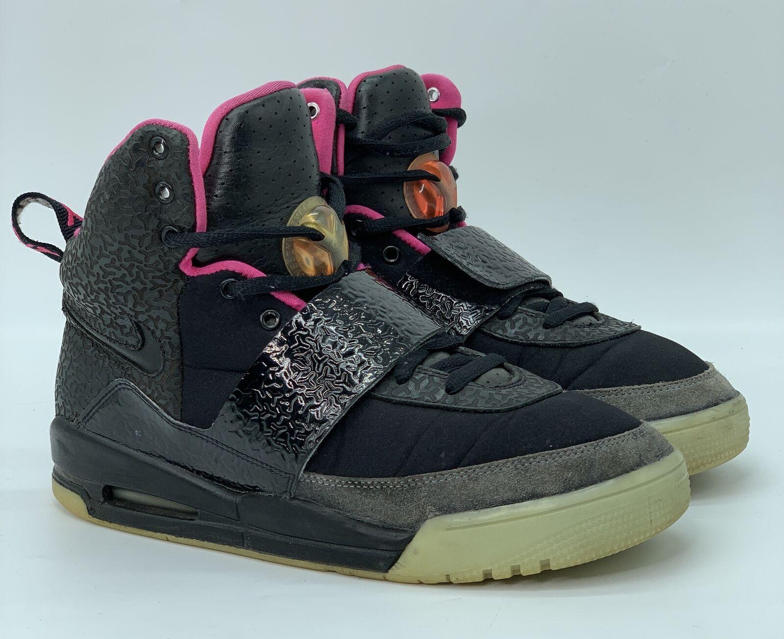 Nike Air Yeezy 1 Blink Black Noir Pink