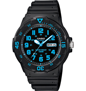 Casio-Gents-24-Hour-Dial-Analogue-Day-Date-Water-Resistant-Watch-MRW-200H-2BVDF