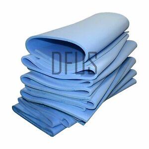 Feuilles-bleu-ferme-en-mousse-coussins-rembourrage-mousse-Toute-Taille-amp-Epaisseur