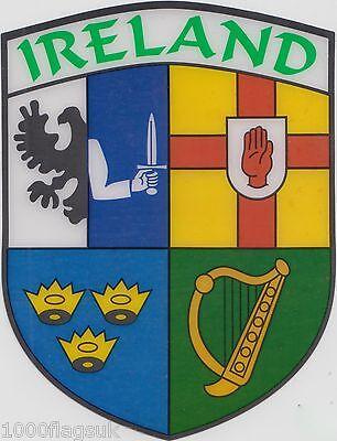 Irlanda Irlandese Connacht Leinster Munster Ulster Bandiera Vinile Prezzo Basso