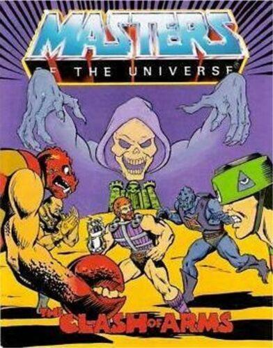 HE-MAN MASTERS OF UNIVERSE MOTU MINI COMIC GIVEAWAY PROMO PROMOTIONAL CLASH ARMS