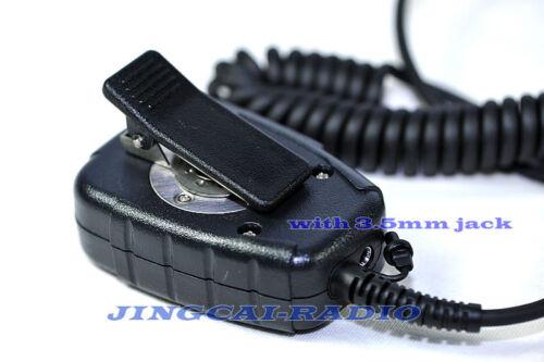Rainproof Dustproof Heavy Duty Speaker Mic for Motorola Radio 1-Pin 2.5mm