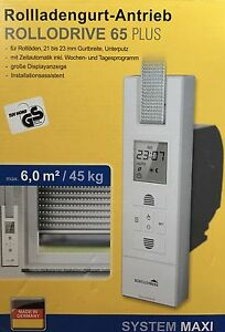 Schellenberg-El-Gutwickler-Rollodrive-65-Plus-weiss-22766-Neu