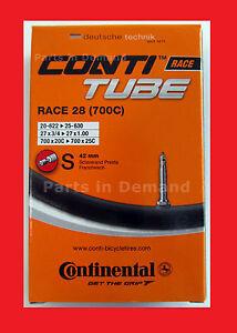 NEW BULK Continental RACE 28 700c x 18-25c 42mm Stem Presta Valve RVC Bike Tube