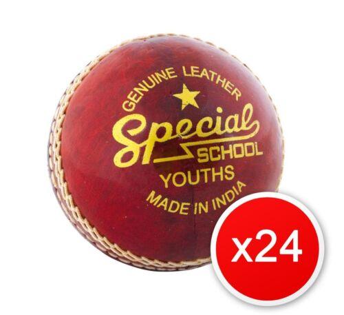 24x Readers School Special Junior Cricket Balls Size 4.75oz