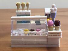 Lego Custom Made Ice Cream Counter/Kiosk *** SEE PHOTOS ***