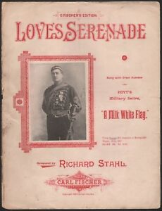 A Milk White Flag Theatrical Song Love S Serenade Hoyt S