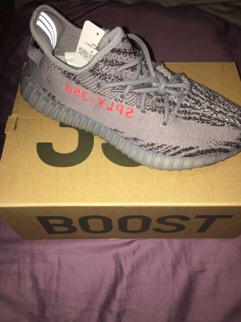 d7535fa0b Yeezy Boost 350 V2 Grey Borang Dgsogr AH2203 Men adidas Size US 8 ...