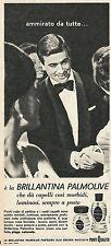 W8400 Brillantina PALMOLIVE - Pubblicità 1964 - Advertising