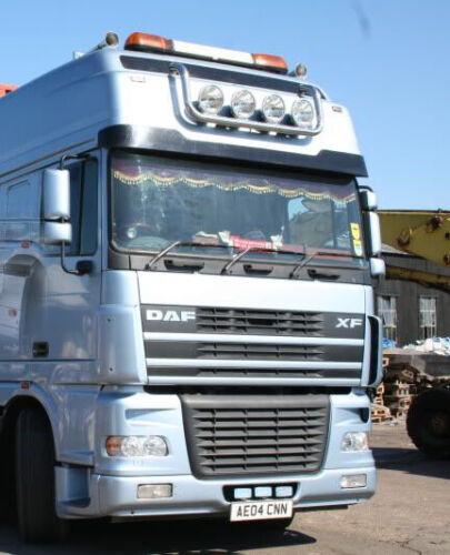 Truck Curtains Drapes Front Discs Borde FRONT WINDSCREEN TRIM Scania Black
