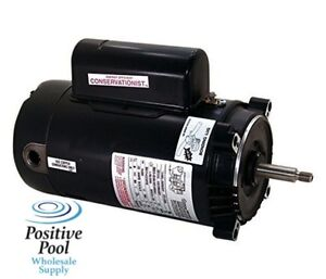 Ao smith century hayward swimming pool pump motor 2 0 hp for Swimming pool pump motors