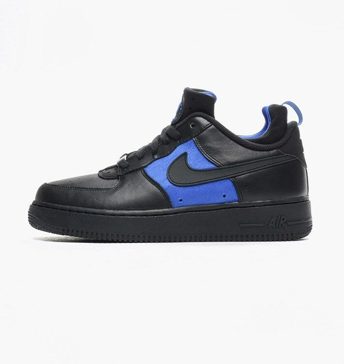 Los hombres de Nike huarache Air Force 1 cmft huarache Nike negro / Lyon Azul 25dfa0