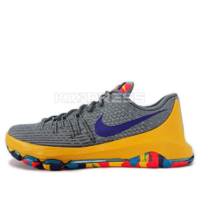 c738a5f38317 Nike KD 8 EP VIII Kevin Durant PC County OKC Mens Basketball Shoes ...
