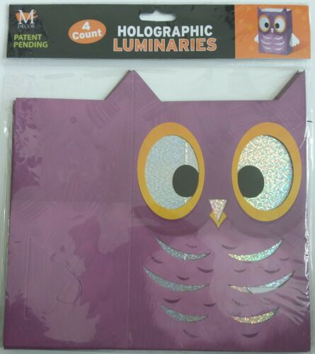 Details about  /Cat or Owl Luminaries Halloween Table Top