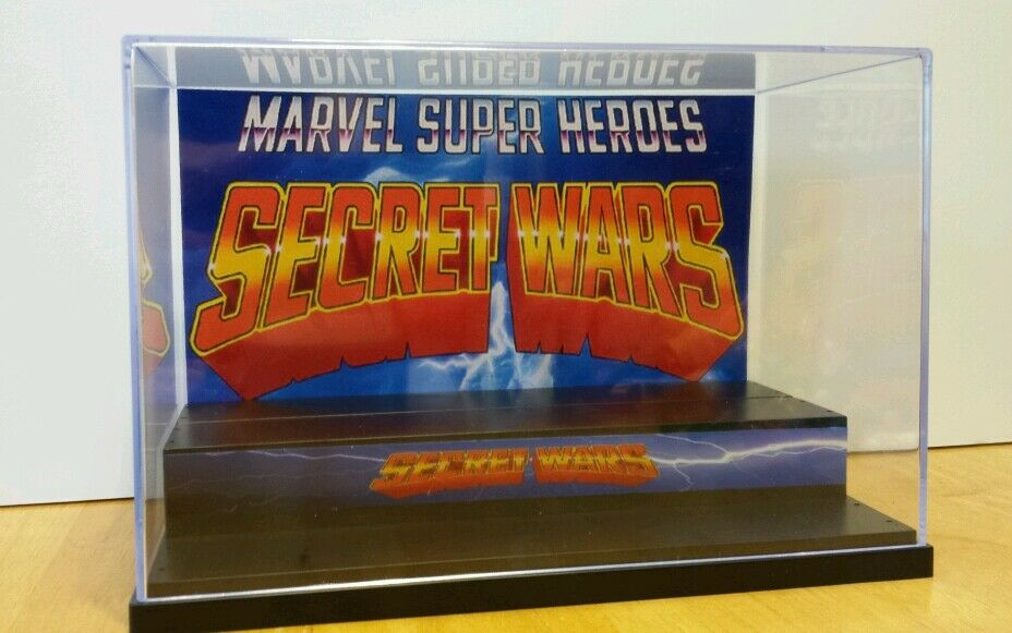 Marvel geheime kriege anzeige stand stil diorama fr actionfiguren fall