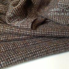 "Hand Woven Harris Tweed Heavy Wool High Class Fabric 74cm 29"" (1c) Jacket Bag"